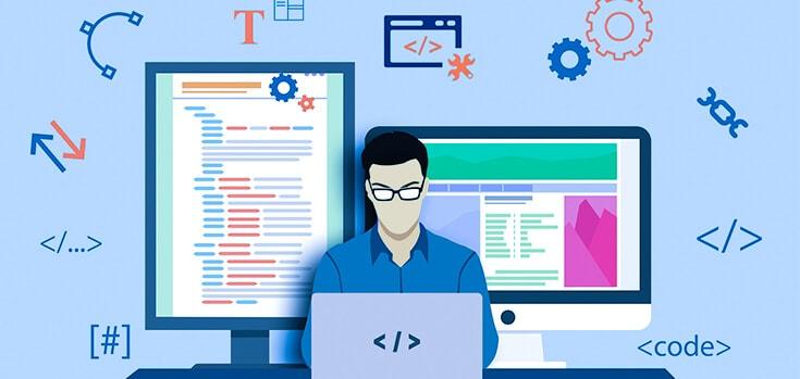 impression with website development