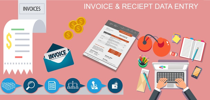 Invoice-reciept-data-entry