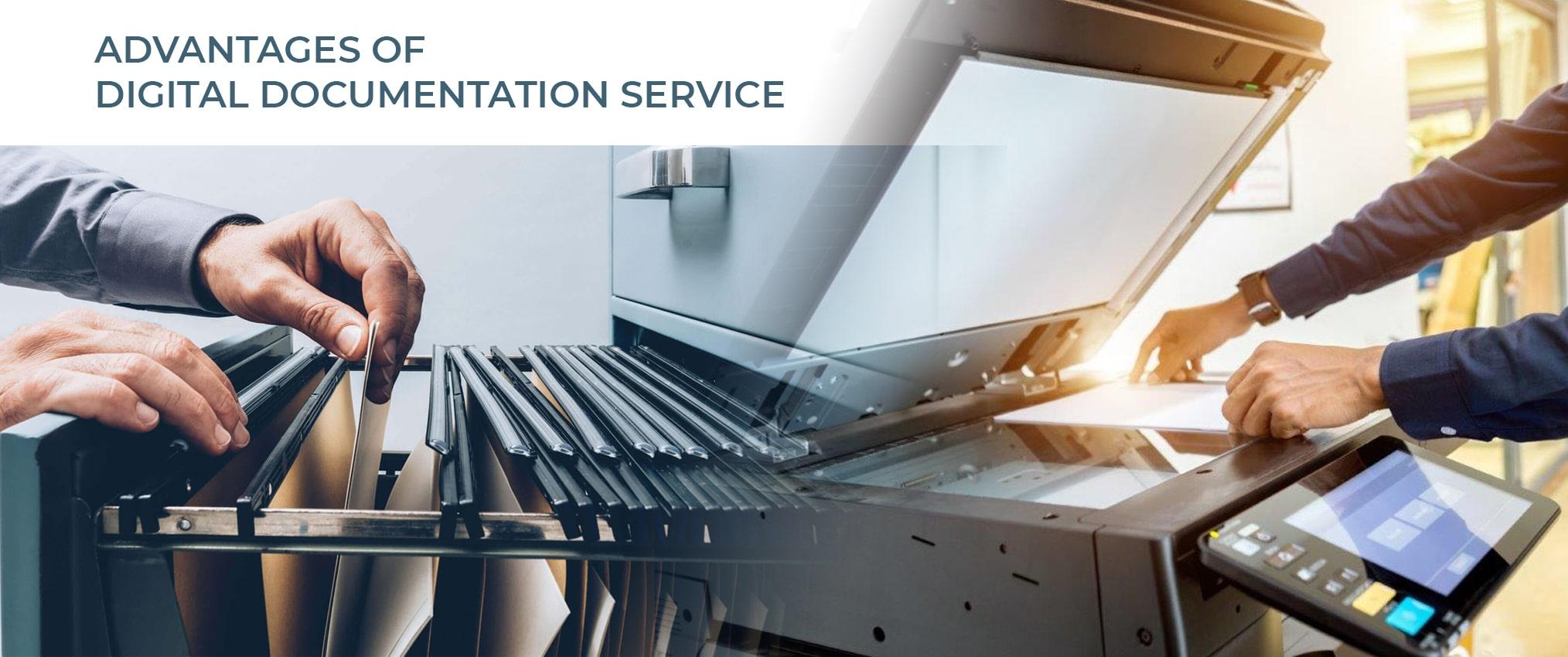 advantages of digital documentation service