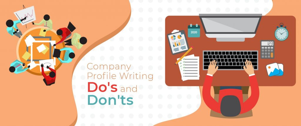company profile writing dos and dont